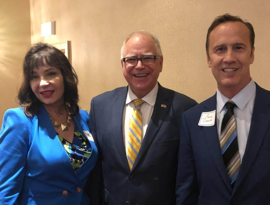 Discussion with MN Governor Walz