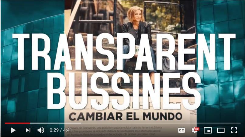 Empredimento.TV re TransparentBusiness