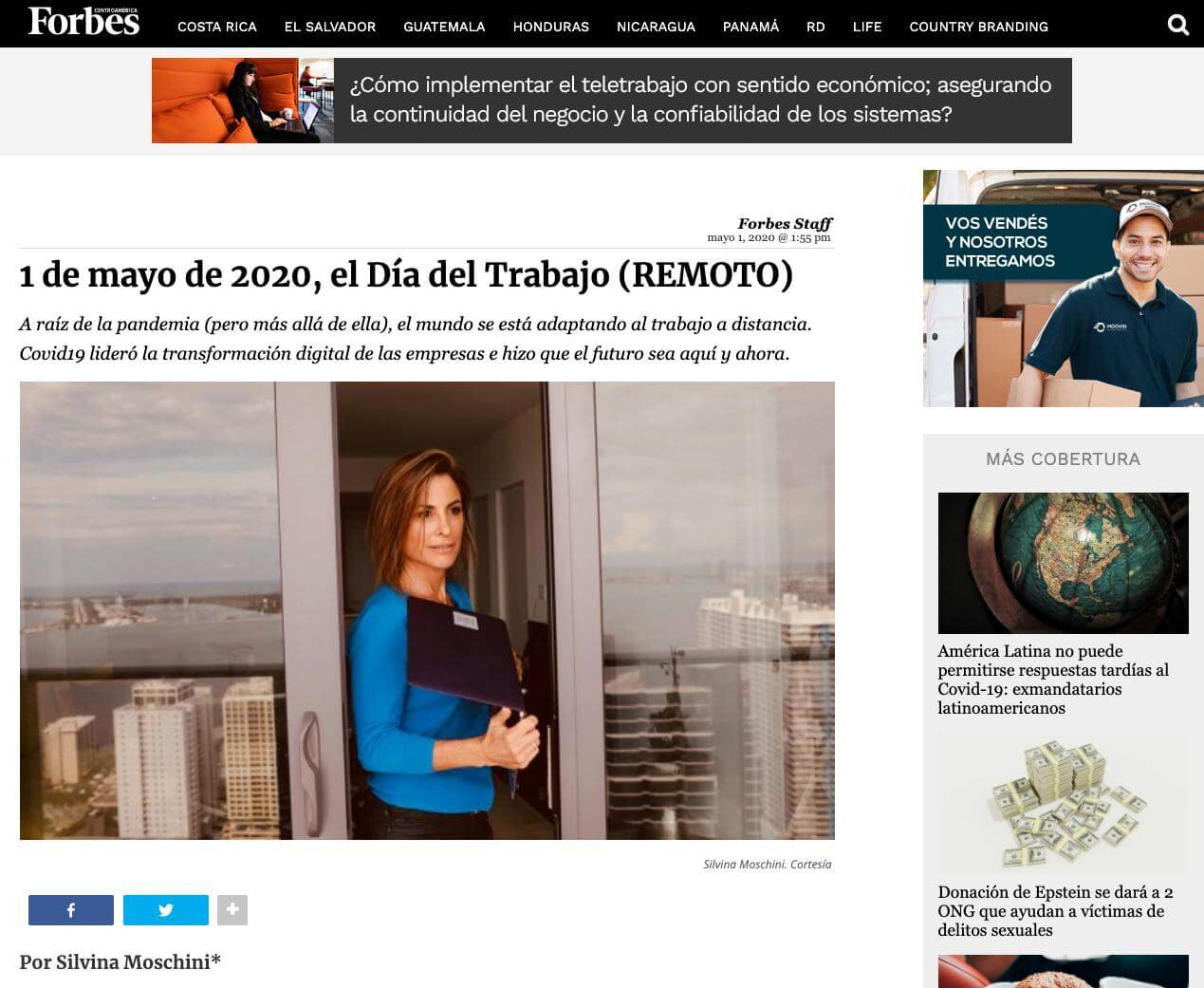 Forbes, Silvina and TransparentBusiness
