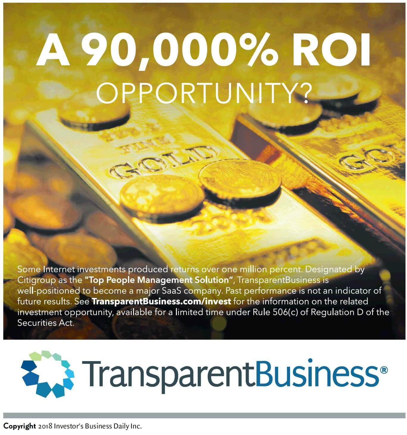 TransparentBusiness starts advertising in IBD