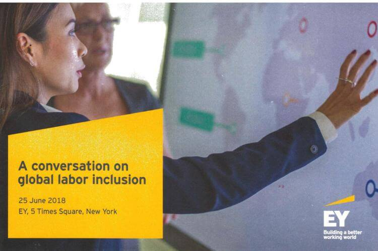 Sharing the official program of the EY/W20/SheWorks event this week