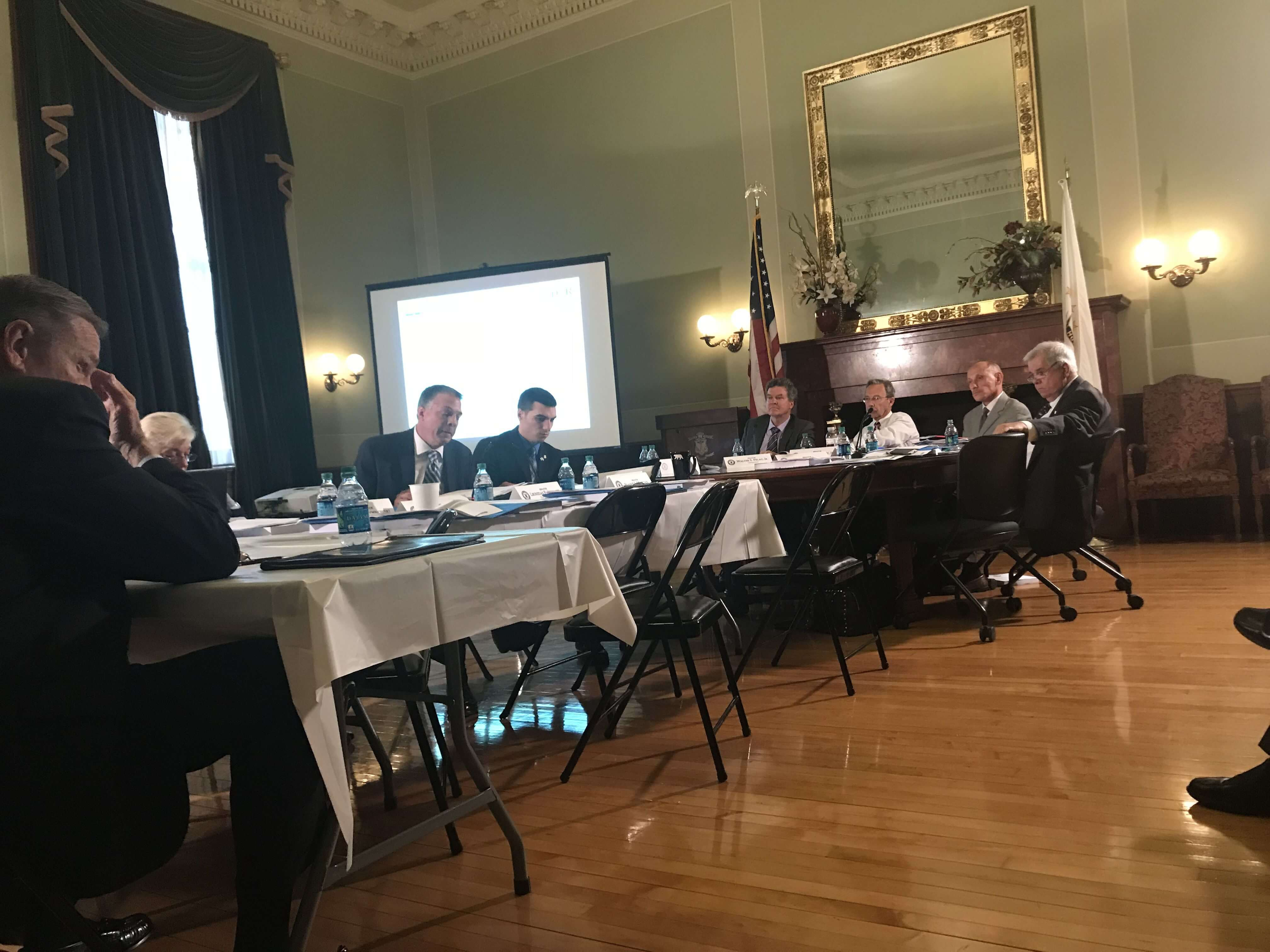 TransparentBusiness testified before the RI Senate Finance Committee