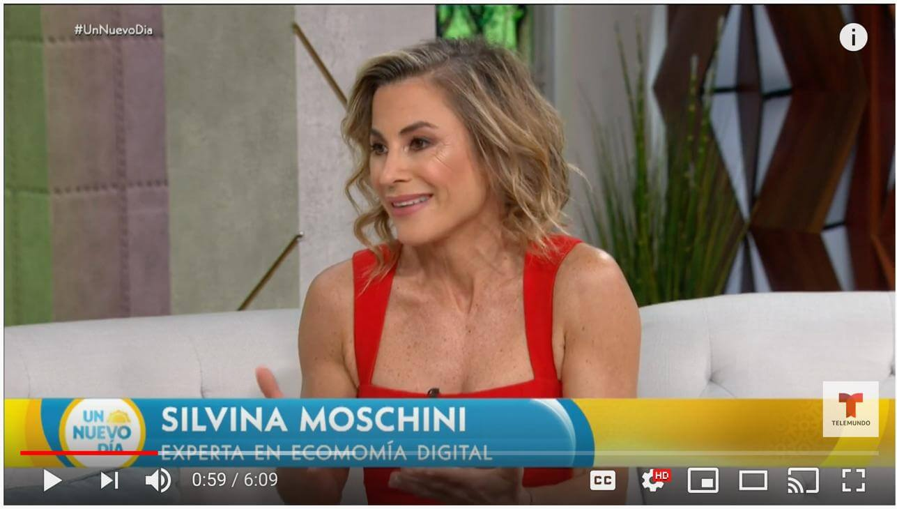 Silvina on Telemundo