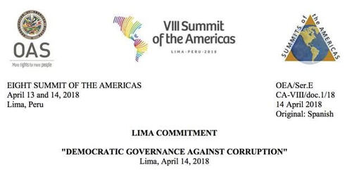 The Transparency Resolutions of the Summit of the Americas
