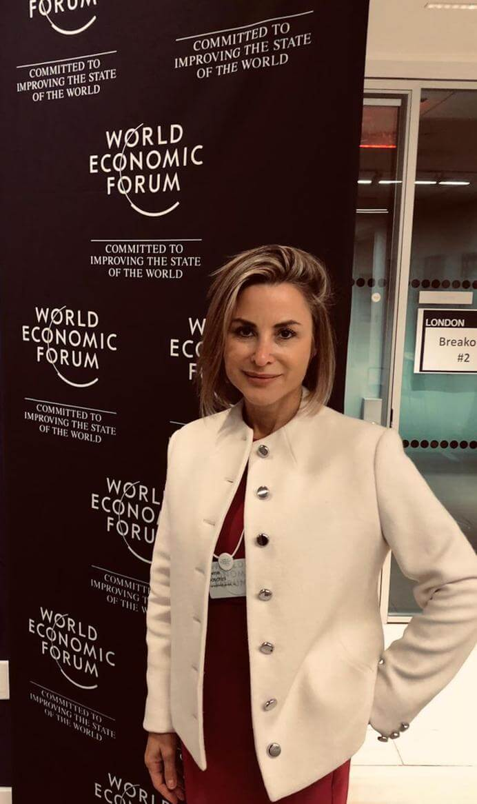TransparentBusiness presenting at the World Economic Forum event in NYC