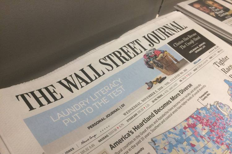 TransparentBusiness in the Wall Street Journal